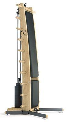 WeightWorkx - Eiche - Kunstleder - Kraftstation aus Holz