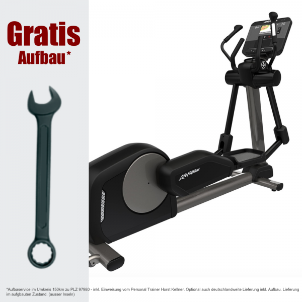 Crosstrainer für Hotels. Life Fitness Club Series + Elliptical Fitness Trainer