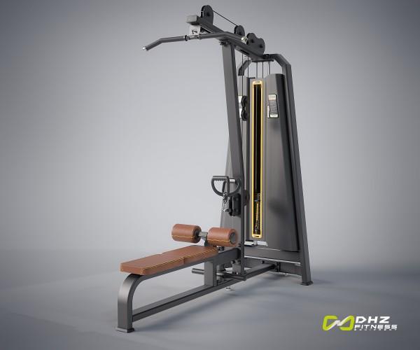 EVOST DUAL Function - Pull down/ Long pull- Latzug und Rudern Studiomodell. DHZ Fitness