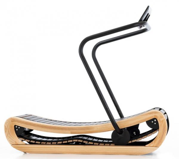 Sprintbok - Esche - Mechanisches Laufband aus Holz