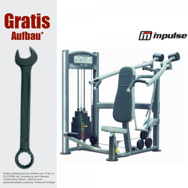Schulterpresse - IT9312 shoulder press - up to 91 kg - inkl. Aufbau