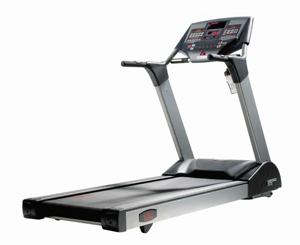 LTX5 Pro UNO Fitness Laufband. Optional auch mit langem Handlauf