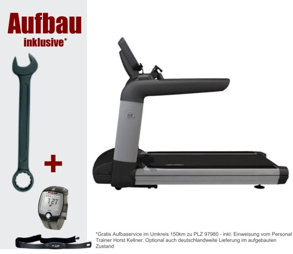 Club Series Laufband mit Discover SI Wifi Platinum Konsole - inkl. Montage